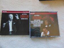 BEETHOVEN 2 CD Fidelio JESSYE NORMAN Goldberg KURT MOLL Bernard Haitink