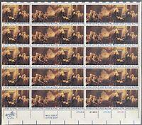 USA Briefmarken Bogen 50x 13 Cent 1976 Declaration of Independence #30727-S