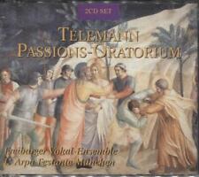 Telemann --Passions-Oratorium [Various] -- 2 CDs w/50 Trks