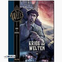 H.G. Wells 3 Der Krieg der Welten Bd. 2 Vicente Cifuentes Science Fiction COMIC