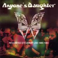 ANYONE'S DAUGHTER 2CD Requested Document Live Vol. 1 Prog 2001 Prog Anyones rare