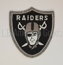 Oakland Raiders Patch Aufnäher 7 x 7,5 cm NFL