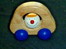 Pintoy Pin Toy Thailand Toysmith Wood Wooden Baby Toddler Toy Car Vehicle