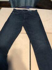 AG The Ives Jeans Mens 31R Modern Athletic Fit Blue Aged Denim