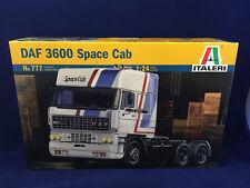 Italeri DAF 3600 Space Cab 1:24 Scale Plastic Model Kit 777 NIB Ships Free