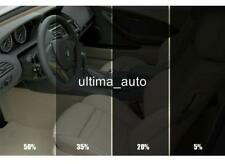 PRO QUALITY ANTI SCRATCH CAR WINDOW TINT FILM  LIGHT SMOKE BLACK 50% 75X300CM
