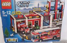 LEGO City Große Feuerwehr-Station (7208)