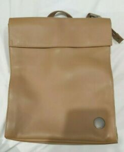 MANDARINA DUCK leather two way BACKPACK brown