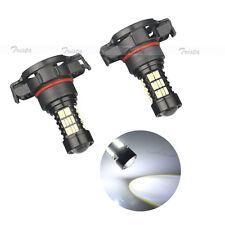 2pc 54 LED HID White H16 Car HeadLight Fog DRL Driving Light 6000K PS19W Lamp