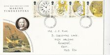 GB 1993 Marine Timekeepers FDC Medway & Maidstone CDS with enclosure VGC