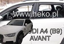 Audi A4 B9 5 portes 2016-prés break Deflecteurs d'air Déflecteurs de vent 4pcs