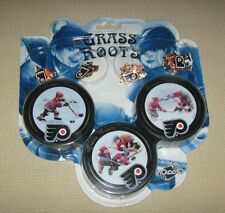 2004/05 NHL Hockey Philadelphia Flyers Collector Puck and Pin Set - Grass Roots