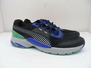 PUMA Men's Future Runner Premium Running Shoe Puma Black/Surf The Web 12M