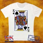 KING PLAYING CARD RETRO VINTAGE HIPSTER UNISEX T SHIRT 218