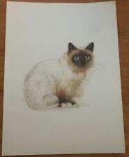 Vintage Mads Stage Print - Burman Cat **