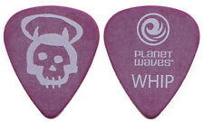 Queensryche Guitar Pick : 2000s Tour - Michael Wilton Whip purple skull
