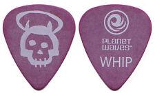 Queensryche Guitar Pick : 2000s Tour - Michael Wilton Whip purple skull