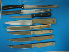 Paula Deen 4 Piece Kitchen Knife Set lot with several others