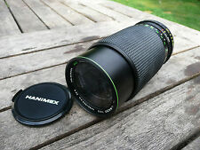 Hanimex Automatic MC 80-200mm Zoom f4.5 Konstante Blende Prakticar-B Mount