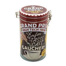 Lata de metal lata de café aromaverschluß aproximadamente retro nostalgia Natives
