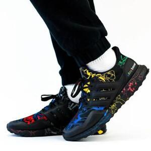 Adidas X Disney Ultra Boost 20 Men's Trainers Black Uk 7.5 Eu 41.5