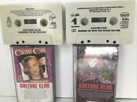 2x Culture Club Waking Up With The House On Fire Cassette Tape OET 39881 Kissing