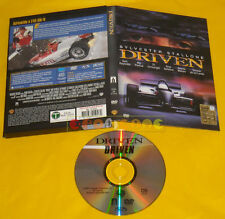 DRIVEN (Silvester Stallone) di Renny Harlin Dvd Snapper »»»» USATO