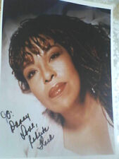 Roberta Flack  autographed signed  8x10 color photo / with COA !
