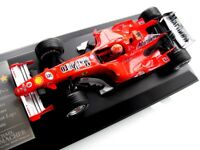 MICHAEL SCHUMACHER 1/18 FERRARI F1 248 7 STARS CAREER STATS PRESENTATION IN CASE