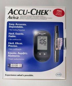 Accu Chek Aviva Blood Glucose Diabetic Monitor/Meter/System - Readings in mg/dl