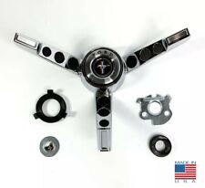 Rare Steering Wheel 3 spoke Horn Ring Assembly For 1965-66 Ford Mustang