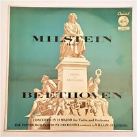 Beethoven, Milstein: Concerto In D Major For Violin And Orch: Capitol 1955 LP