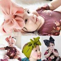 Kids Girl Baby Toddler Infant Flower Big Bow Ribbon Headband Hair Band Headwear