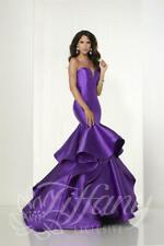 Tiffany Designs Prom Dress 46147 Indigo Size 10 NWT