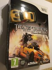 NINTENDO Wii GAME +CAR TRANSFORMERS DARK OF THE MOON STEALTH FORCE EDITION NEW
