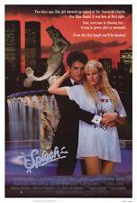 SPLASH Movie POSTER 27x40 Tom Hanks Daryl Hannah Eugene Levy John Candy Dody