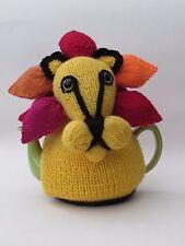 Tinga Tinga Lion Tea Cosy Knitting Pattern
