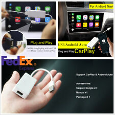 Car Music Radio Navigation USB Dongle Carplay For iPhone Android US Shipping New