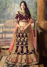 Party Bridal Lehenga Choli Designer Lengha Chunri Indian Ethnic Wedding Saree