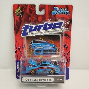Muscle Machines Turbo '00 Nissan Silvia S15 Blue