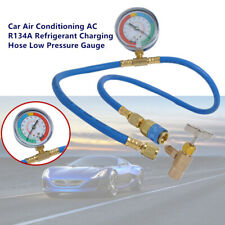Car Air Conditioning AC R134A Refrigerant Charging Hose Low Pressure Gauge Parts