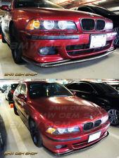 95-03 CARBON FIBER BMW E39 M-TECH M-SPORT H TYPE FRONT LIP SPOILER ADD ON