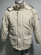 Mens Ikon Jacket With Fur Hoodie Size Medium Excellent Condition Warm