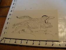 calligraphy ANIMAL ?? signed-----------dog maybe