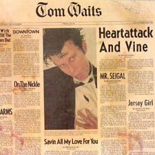 TOM WAITS HEARTATTACK AND VINE PRESALE NEW LTD COLOUR LP REISSUE OUT 14/9