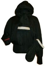 PRADA ~ 4 in 1 Padded SKI jacket + Gloves + scarf + Padlock ~ size: M / L ; 44