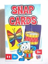 CHILDREN'S SNAP CARDS - Kids Game Family Fun Toys Playing Cards Party filer Bag