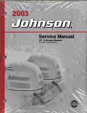 2003 JOHNSON OUTBOARD ST 2 STROKE (55 WRL) P/N 5005483 SERVICE MANUAL (798)