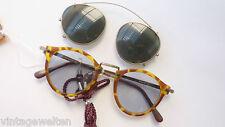 Humphreys Lichtschutzbrille mit Sonnenbrillen Clip Pantoform unisex size L