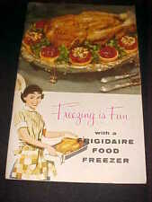 Vintage Antique 1958 Freezing is Fun Food Cookbook Survival Old Recipes Canning